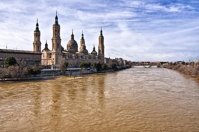 Fiume Ebro Saragozza