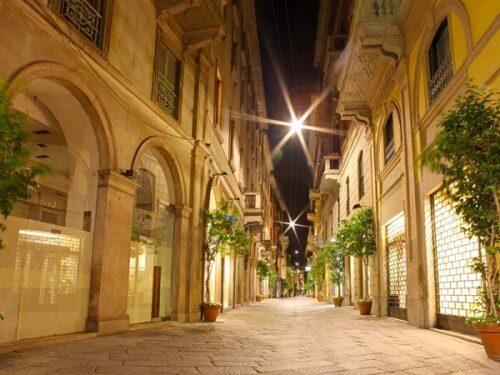Milano il Quadrilatero della Moda